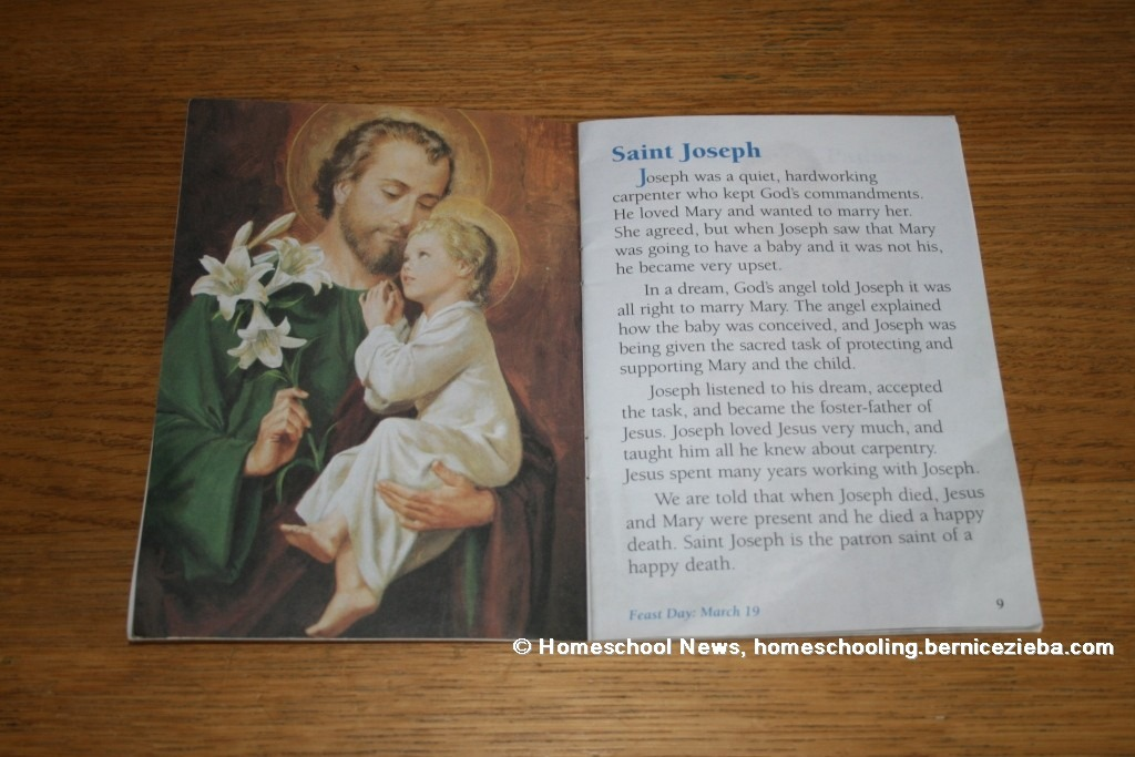 St. Josef, Homeschool News, Jan und Bernice Zieba