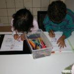 Auffahrt, Bilder ausmalen, Homeschool News, Bernice und Jan Zieba