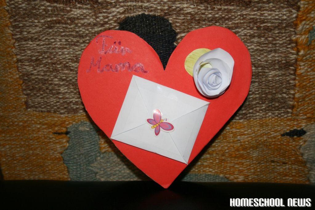 Basteln-Papier-Muttertag-1
