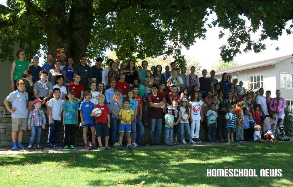 Gruppenbild, Verein Bildung Zuhause, Homeschool News, Jan Zieba, Bernice Zieba
