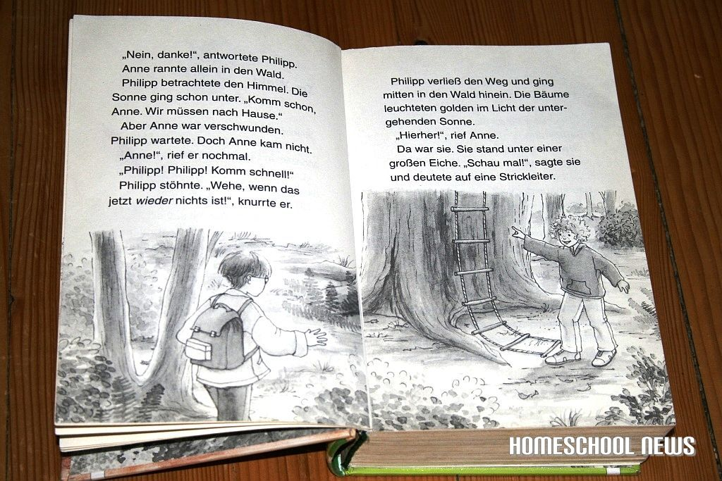 Lesen lernen, Das magische Baumhaus, Homeschool News, Bernice Zieba, Jan Zieba