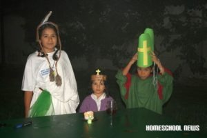 Halloween, All Saints, Homeschool News, Jan Zieba, Bernice Zieba