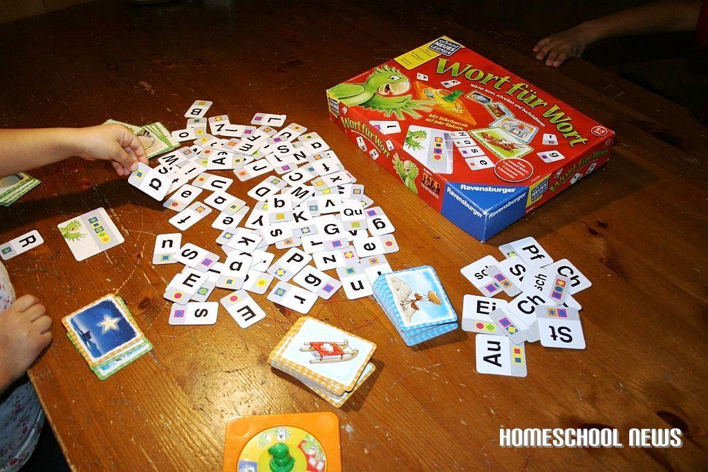 Lernspiel, Wort für Wort, Buchstabieren lernen