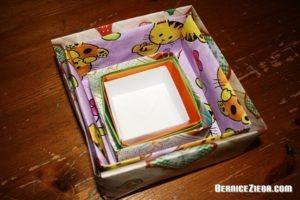 Schachteln aus Papier basteln