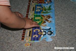 Alphabet Express, Buchstaben-Puzzle