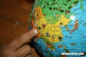 Puzzle-Globus