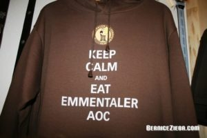 Keep Calm and Eat Emmentaler AOC