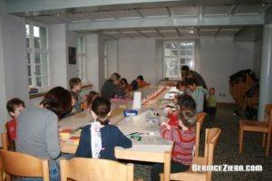 Homeschool-Treffen, Weihnachtssterne basteln