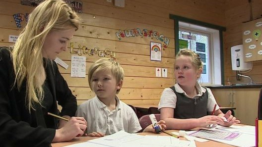 Home Education in England. Bild: BBC