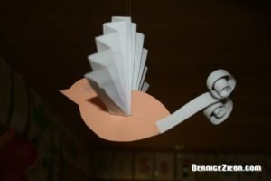 Mit Papier basteln, Ostereier, Papiervogel, Quilling