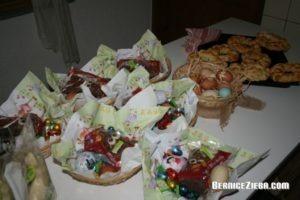 Osterneste vorbereiten