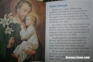 Am 19. März war St. Josefstag.