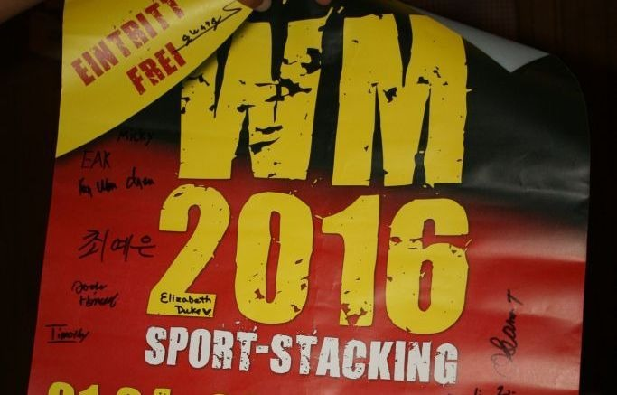 Sport Stacking WM, 2016