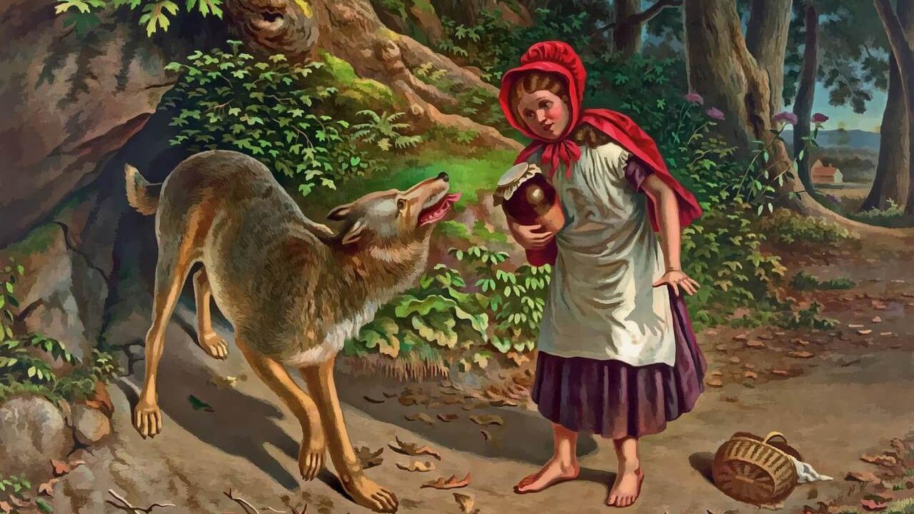 Rotkäppchen, Little Red Riding Hood