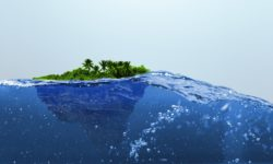 Island, Water, Bits of Thought, Bernice Zieba