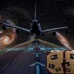 Plane, Planets, Suitcase, Bits of Thought, Bernice Zieba