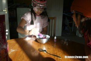 Kreide selber machen, Make Chalk Yourself, Sparkle Science