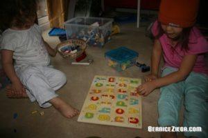 Buchstaben lernen, Learning the Alphabet