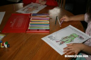 Colouring sheets, Saint Patrick