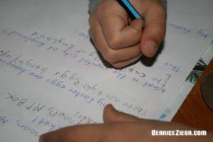 Schreiben lernen / Learn to Write