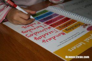 Schreiben lernen / Learning to Write