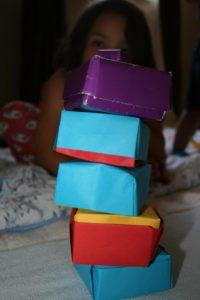 Schachteln falten, Folding boxes, Bernice Zieba