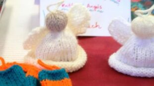 Knitted Angels, Gestrickte Engel