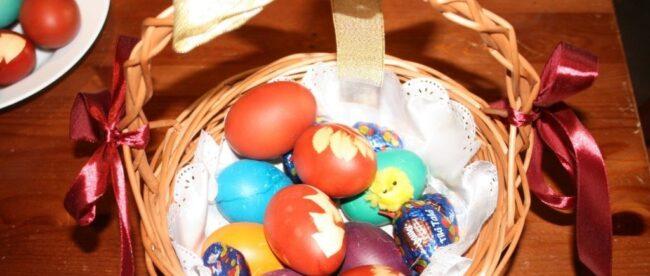 Ostereier färben / Colouring Easter Eggs, Bernice Zieba