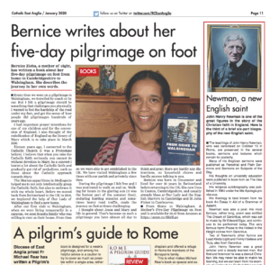 Bernice Zieba: From Home to Walsingham
