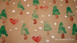 Weihnachtsgeschenkpapier, Christmas Wrapping Paper, Bernice Zieba