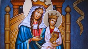 Mary and Jesus, Walsingham
