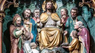 Jesus Miraculous Bread Multiplication